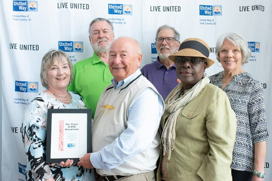 VITA volunteer honored at UWYC award's ceremony